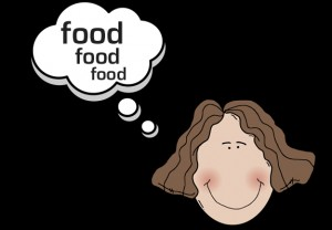 cartoon-food-woman